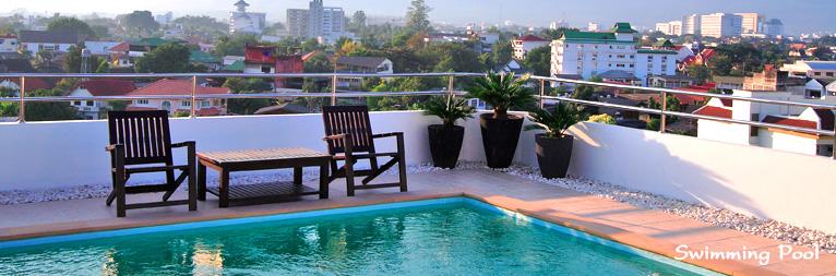 chiang mai apartment swimming pool